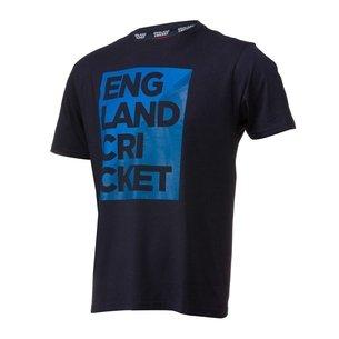 England Cricket Mens Graphic Block T-Shirt