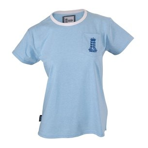 England Cricket Crew Neck T Shirt Ladies