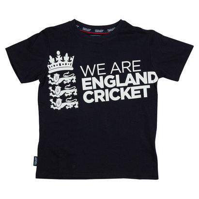 England Cricket Cricket Board Large Crew Neck T Shirt