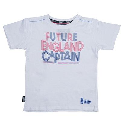 England Cricket Kids Future England Captain T-Shirt
