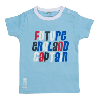 England Cricket Crew Neck T Shirt Infants
