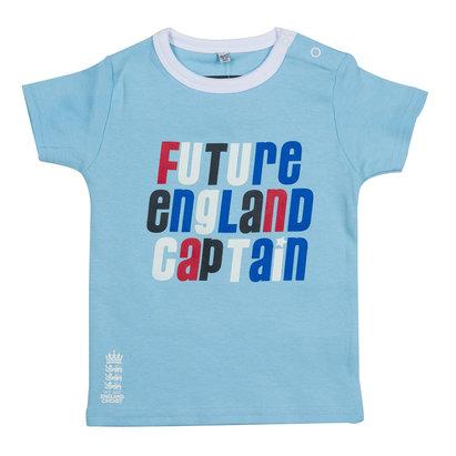 England Cricket Crew Neck T Shirt Infants