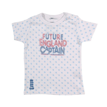 England Cricket Infants Spotted Future England Captain T-Shirt