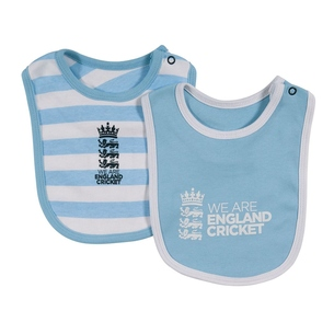 England Cricket 2 Pack Bibs Infants