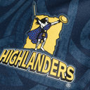 Highlanders 2019 Home Super Rugby S/S Shirt