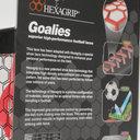 Hexagrip White Performance Football Laces