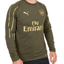 Arsenal 18/19 Players Football Training Sweatshirt