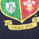 British and Irish Lions Mens Crest T-Shirt