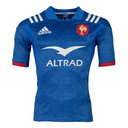 France Replica Home Short Sleeve Rugby Shirt