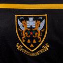 Northampton Saints 2018/19 Players Travel 1/4 Zip Rugby Sweat
