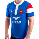 France 2018/19 Home S/S Rugby Shirt