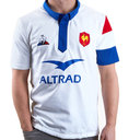 France Rugby Polo Shirt Mens