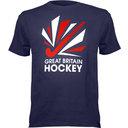 GB Hockey Leisure Big Logo T-Shirt
