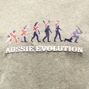 Australia Aussie Evolution T-Shirt - Mens