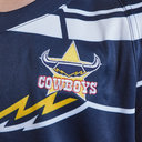 North Queensland Cowboys NRL 2019 Kids Home S/S Rugby Shirt