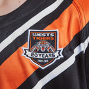 Wests Tigers NRL 2019 S/S Kids Rugby Shirt