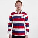 England 2019/20 Vintage Stripe Rugby Shirt