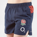 England 2019/20 Kids Woven Gym Rugby Shorts