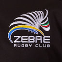 Zebre 2019/20 Players Travel Rugby T-Shirt