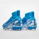 Mercurial Superfly Elite DF Junior FG Football Boots