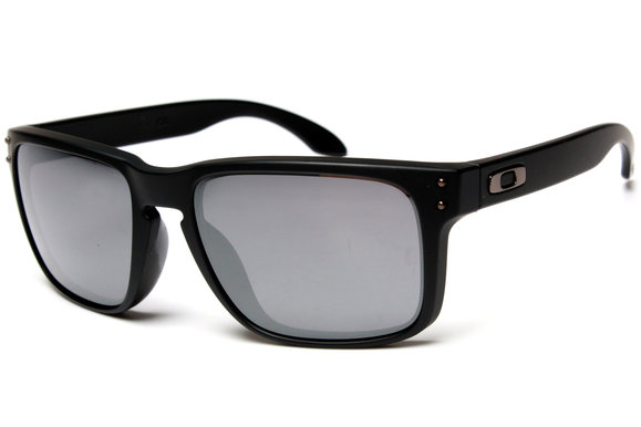 8e43eb48ed Oakley Holbrook OO9102-63 Matte Black Black Iridium Sunglasses