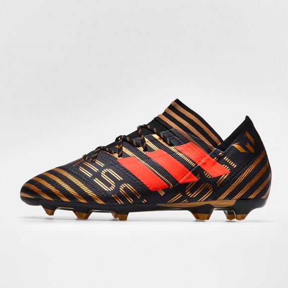 7798b0d1dbb5 Nemeziz Messi 17.2 FG Football Boots. Core Black Solar Red Tactile ...