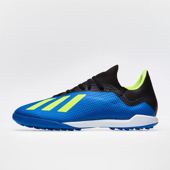 96b23b2cd7ea X Tango 18.3 TF Football Trainers. Football Blue Solar Yellow Core Black