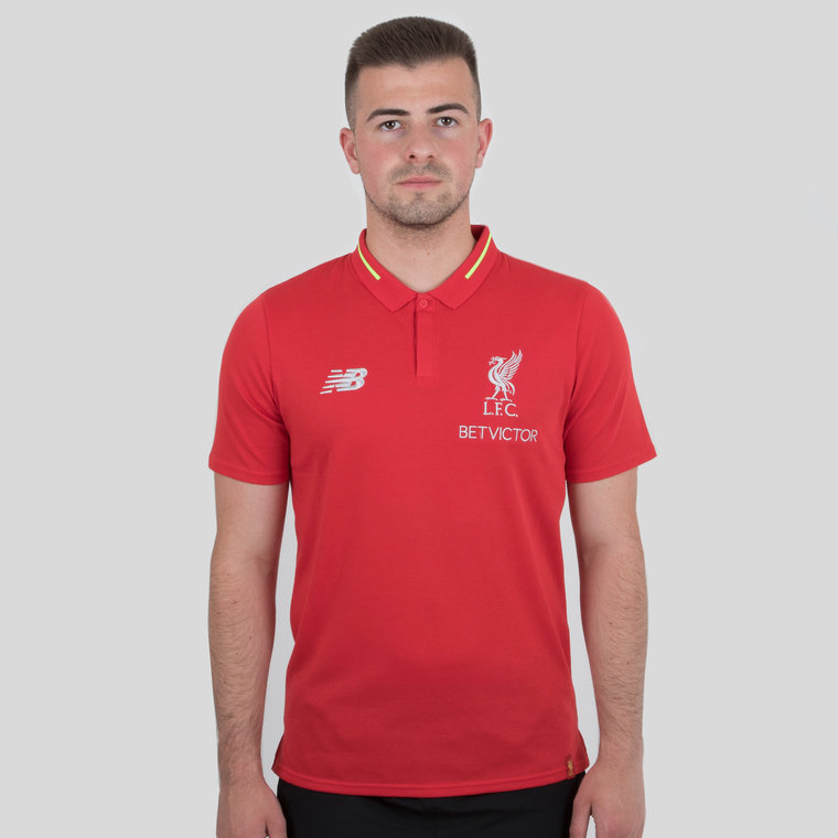 New Balance Mens Liverpool FC 18//19 Leisure Football Sports Pants Trousers Grey