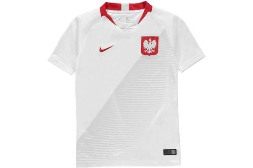 Poland Home Shirt 2018 Junior