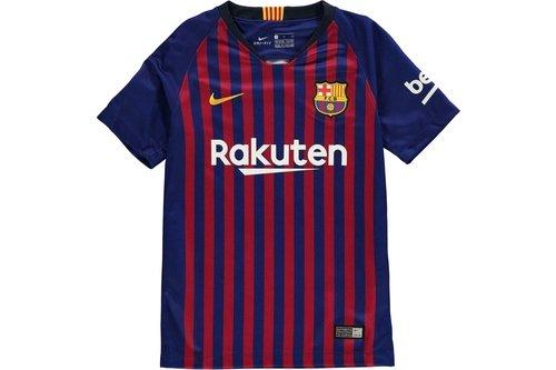 Barcelona Home Shirt 2018 2019 Junior