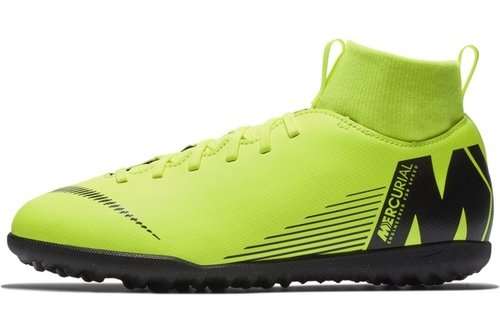 7cdf9a0d8391 Nike Mercurial Superfly Club DF Junior Astro Turf Trainers, £32.00