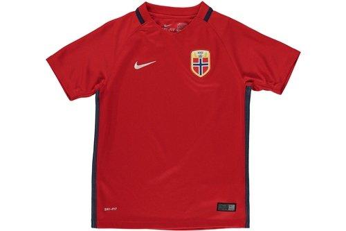 Norway Home Shirt 2016 Junior Boys