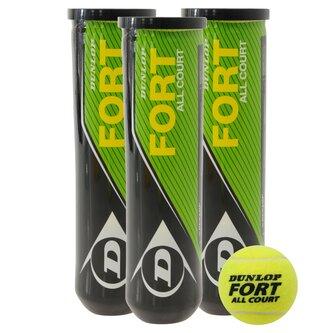 Fort All Court Tennis Balls (4 Ball Tube)
