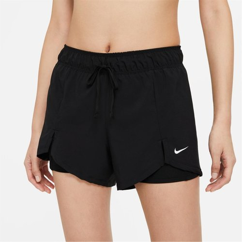 2 in 1 Woven Shorts Ladies