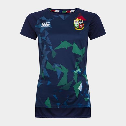 British and Irish Lions Superlight Graphic T Shirt Ladies