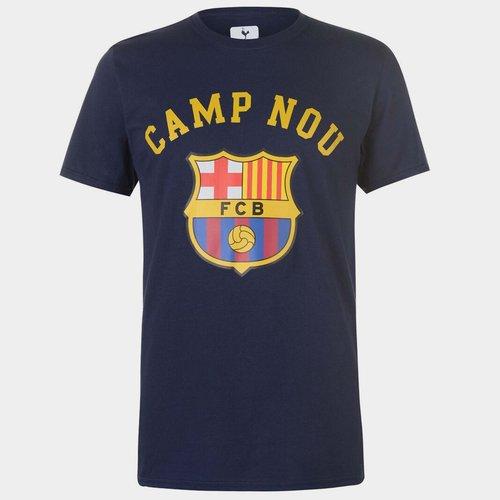 Barcelona Crest T-Shirt Mens