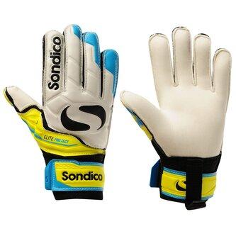 Elite Protech Goalkeeper Gloves Junior