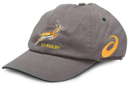 1efa9b27d0a Asics South Africa Springboks Rugby Cap Stone Bottle