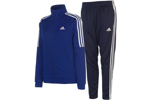 Details about Adidas Sport Training Workout Womens Full Tracksuit Top Jacket Bottoms Pants