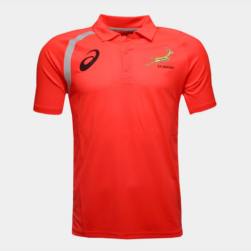 South Africa Springboks 2017/18 Players Performance Polo Shirt