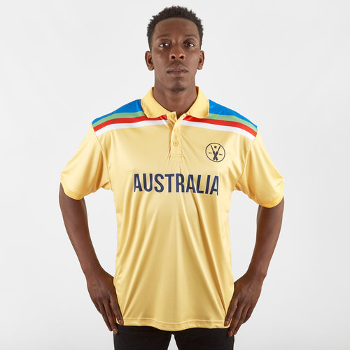 Australia Retro Cricket Polo Shirt