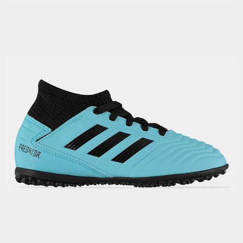 adidas Unisex Predator 19.3 Junior Astro Turf Trainers Sports Shoes