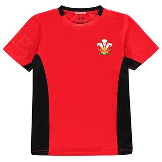 2019 Poly T Shirt Junior Boys