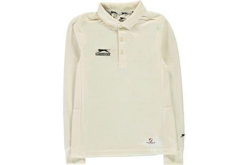 Long Sleeve Cricket Shirt Juniors