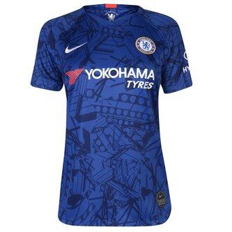 Chelsea 19/20 Ladies Home S/S Football Shirt