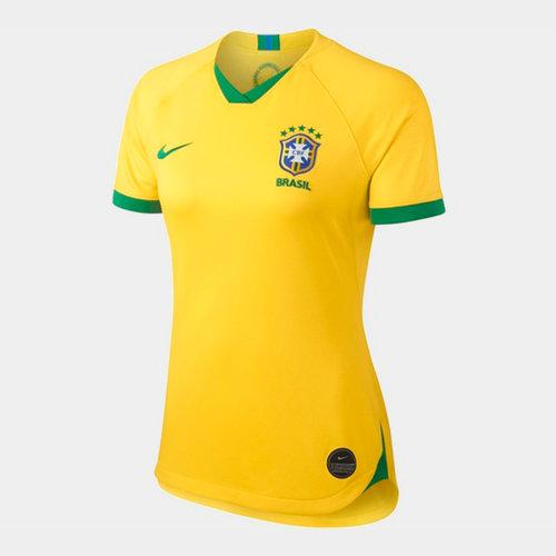 Brazil Womens World Cup 2019 Home Shirt Ladies