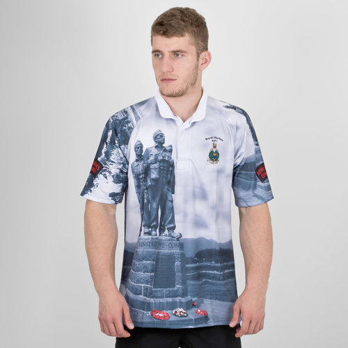 Royal Marines Falklands Limited Edition Charity Replica Rugby Shirt
