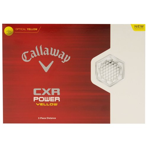 CXR Power Golf Balls 12 Pack