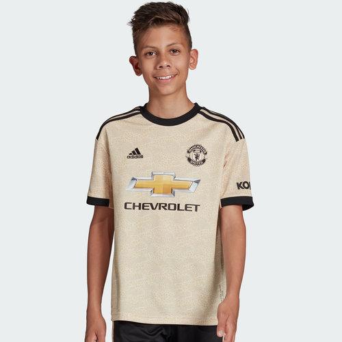 Manchester United 19/20 Kids Away S/S Football Shirt