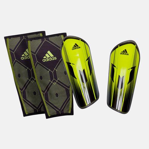 e2c209d0d Messi 10 Pro Slip In Shin Guards. Semi Solar Lime Core Black